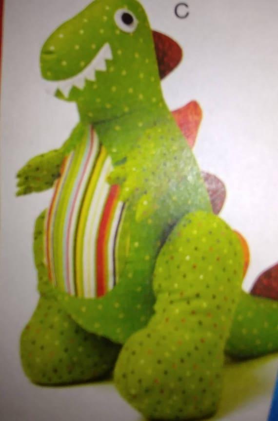 Stuffed Sitting Dinosaur