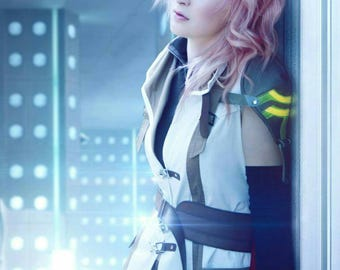LIGHTNING farron - Final Fantasy - cosplay print