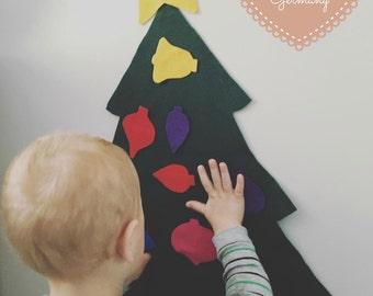 Felt Tree & Ornaments