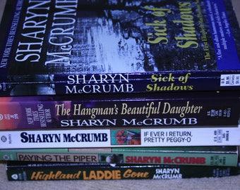 5 Sharyn McCrumb books / Free shipping