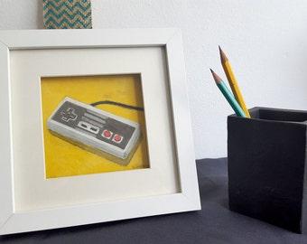Nintendo Nes controller card