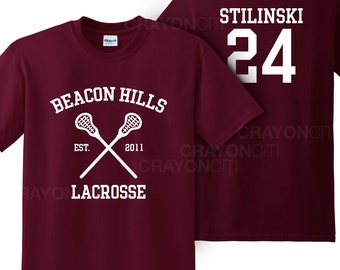 Teen Wolf Beacon Hills Lacrosse Tshirt Stilinski 24 Tshirt