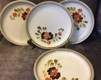 Vintage Denby England Serenade small bread and butter plates