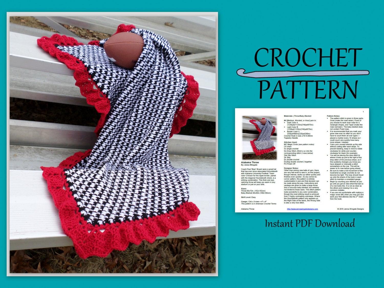Dorable Patrón Afghan Crochet Diagonal Galería - Manta de Tejer ...