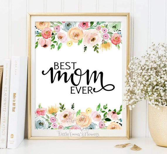 Mom Wall Art Gifts For Mom Mother Home Decor Quotes For