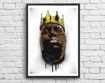 Art-Poster 50 x 70 cm - Notorious BIG