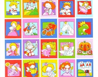 Princess Castle Fairy tale Holland Stickers Sheet
