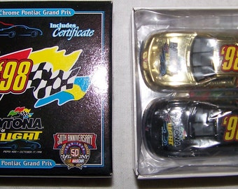 Vintage Racing 1998 Daytona At The Speed Of Light Set with Certificate Rare 1:64 Diecast Nascar