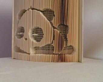 Folded Panda Pattern