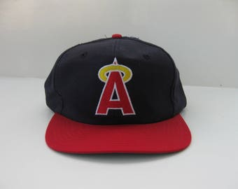 Vintage 90s California Angels Snapback hat NWT Baseball