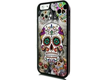 Sugar Skull iPhone 7 Case-iPhone 7 Plus