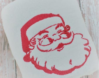 Christmas Embroidery Design - Machine Embroidery Pattern - Santa Embroidery Design - Christmas Machine Embroidery Design