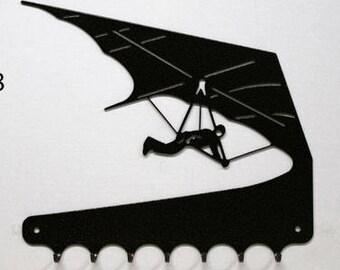 Hangs key pattern metal: hang gliding