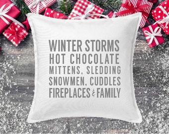 Christmas Pillow Cover, Christmas pillow
