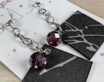 Wall Paper Earrings