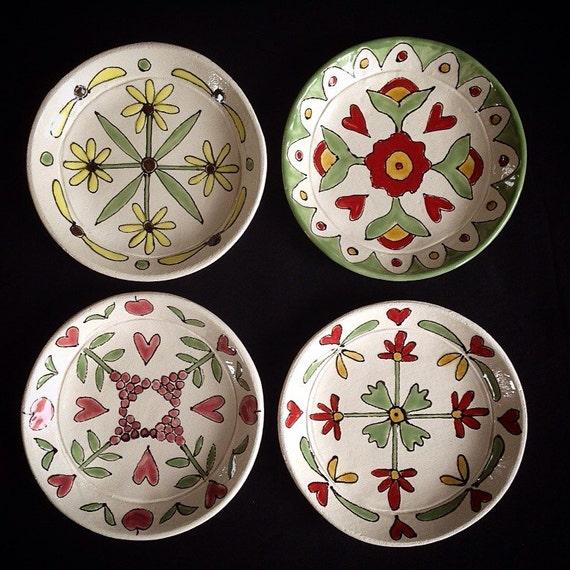 Handmade ceramic trinket dish