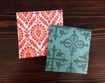 Colorful Tea Bag Envelopes- 25 Count