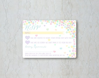 Candy Confetti RSVP
