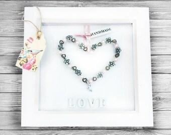 Lovely gift l Wall decor l Heart Frame
