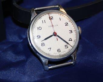 Pobeda soviet watch made in USSR 1 MHZ