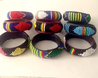 Bracelets Masai tribe