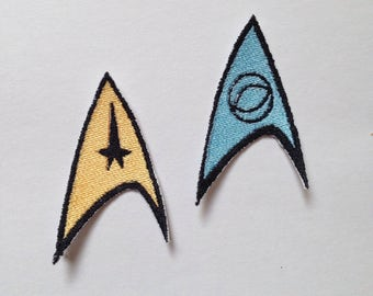 Star Trek Iron-on Patch Set