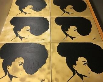 Black Gold Updo