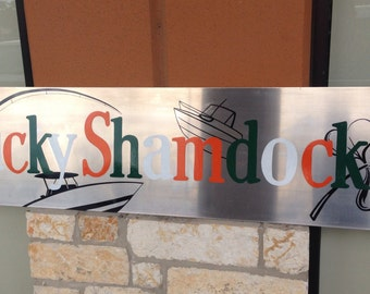 Aluminum Custom Sign