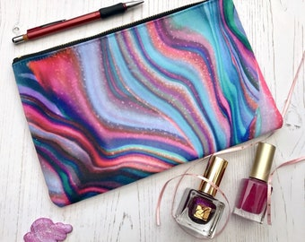 Pencil Case, Pencil Holder, Cosmetic Bag, MakeUp Pouch, Zipper Pouch, Stationery Organiser, Clutch Bag