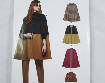 Simplicity New Look Woman's Cape Pattern 6324, All Sizes - Uncut