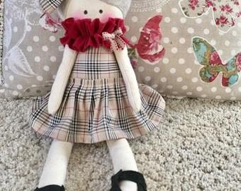 Soft cloth doll doll