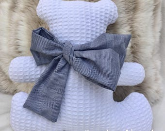Teddy bear white cloth-bear-bear
