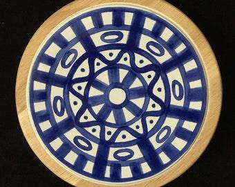 Dansk Arabesque Ceramic Trivet