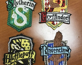 Hogwarts Harry Potter Patch in Book and Movie Version