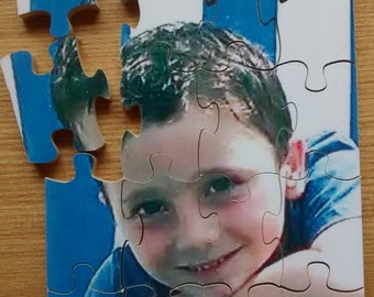 personalised childrens Picture Puzzles, wooden