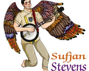 Sufjan Stevens Bumper Sticker