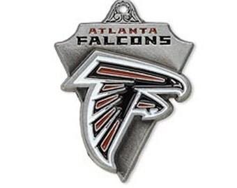 Atlanta Falcons Triangle Charm