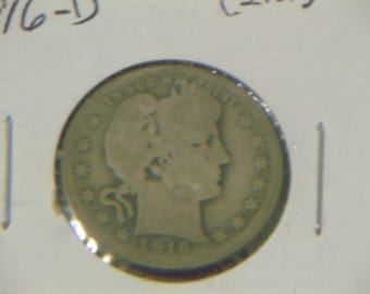 1916-D Barber Quarter (BN56)