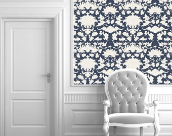 Persia Chinoiserie Peel 'n Stick Wallpaper Custom Sizes and Colors!