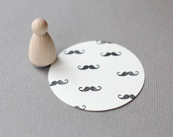 Stamp Moustache Small