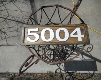 Address Signs, House Numbers, Street Signs, Wood, Custom Designed, Custom Carved, Various Woods, Decorative, Weather Resistant, Rustic,