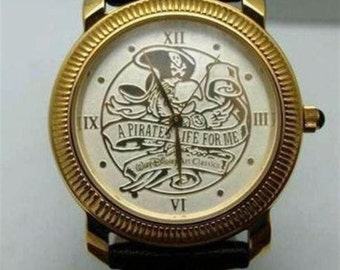 Disney Pirates Watch Life for Me Limited Edition Coin Bezel Style Watch