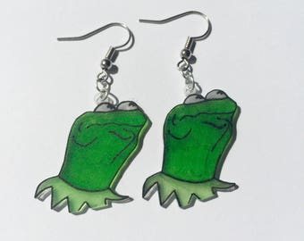 Kermit the Frog Earrings