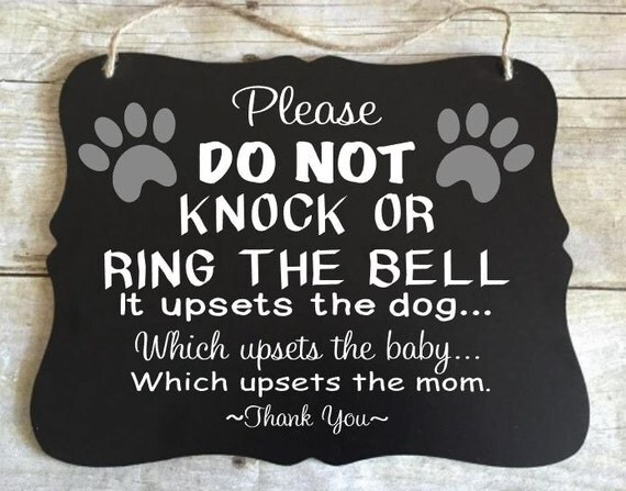 No Soliciting Sign, No Solicitation Sign, Funny No Soliciting, Go Away Sign, Baby Shower Gift, New Parents Gift, Do Not Ring Bell, Statement
