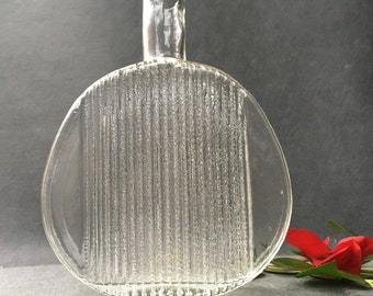 Serious glass - glass pitcher - midcentury vase going to