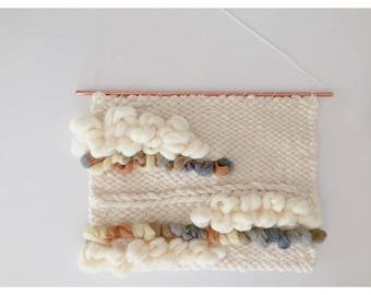 Textured Earth-toned Weaving