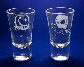 Sherlock Shotglasses