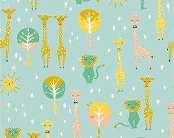 Birch Fabrics Happy Pals Sky