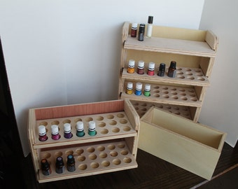 Essential Oil Shelf 96 ct & 48 ct with a drawer