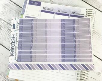 APR-86 || Bill Due Stickers for Planner - April EC Color Scheme (60 Removable Matte Stickers)